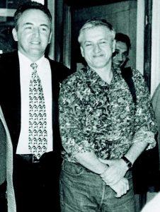 Marko Lopušina i Željko Ražnatović Arkan
