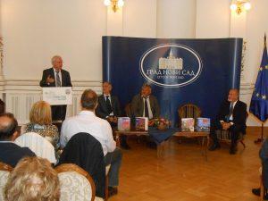 Promocija knjiga SRBI U ISTOČNOJ EVROPI u Novom Sadu, 20. septembar 2016.