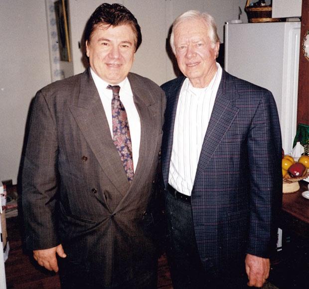 Borko Đorđević i Džimi Karter