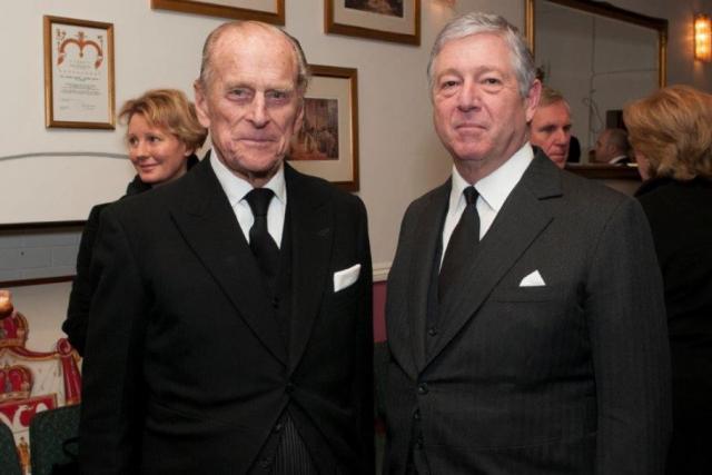 Princ Filip i prestolonaslednik Aleksandar