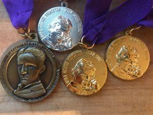 Tesline medalje TSF iz Filadelfije