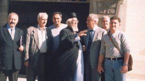 Srpska delegacija koja je prisustvovala prenosu mostiju Jovana Ducica, Libertivil, 2002