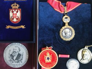 Ordenje i medalje M. Lopušine